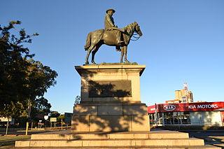 Equestrian Statue of Cecil Rhodes