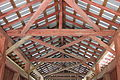 Ceiling of the Jud Christie Covered Bridge.JPG