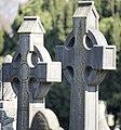 Celtic crosses at Glasnevin Cemetery - (442800220).jpg