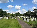 Cemetery, south of Warboys - geograph.org.uk - 489376.jpg