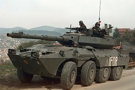 B1 Centauro with IFOR Markings.