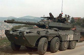 B1 Centauro - B1 Centauro with IFOR Markings.