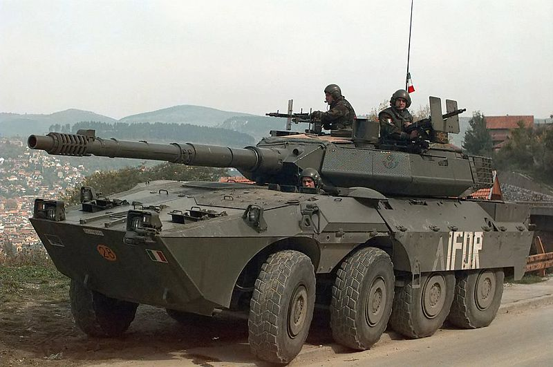 With the B1 centauro tank destroyer (1986), italy ...