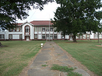 Segregation academy - Image: Central Delta Academy, Inverness, MS