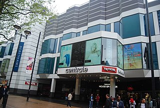 shopping centre in Croydon