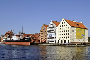 National Maritime Museum, Gdańsk - Granaries and SS Sołdek
