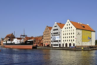 National Maritime Museum, Gdańsk - Granaries and SS Sołdek