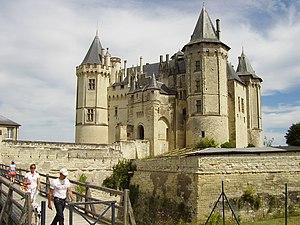 Château de Saumur - Image: Château de Saumur 2008 PD 10