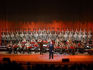 Alexandrov Ensemble - The Alexandrovci with Iosif Kobzon as soloist
