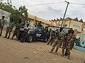 Chadian National Gendarmerie in front of the High Court of N'Djamena in 2016.jpg