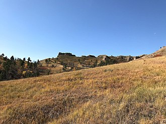 Chadron State Park - Chadron State Park, October 2017
