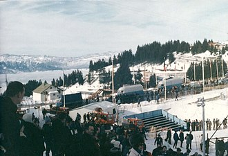 1968 Winter Olympics - Site of Chamrousse (1968).