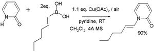 Boronic acid - Chan–Lam coupling
