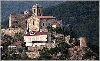 Canton of Issoire - View of Saint-Yvoine