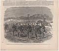 Charge of the First Massachusetts Regiment on a Rebel Rifle Pit Near Yorktown – Sketched by Mr. W. Homer (Harper's Weekly, Vol. VI) MET DP875210.jpg