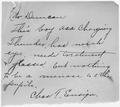 Charles F. Ensign to J.J. Duncan. - NARA - 284032.tif