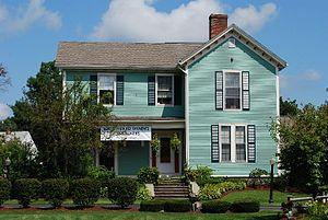 Church Green (Taunton, Massachusetts) - Image: Charles Hubbard House