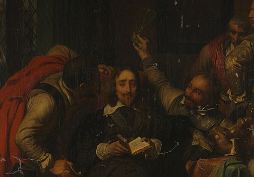 Charles I Insulted by Cromwell's Soldiers