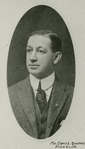 Charles Querrie - Querrie in the 1917–18 season.