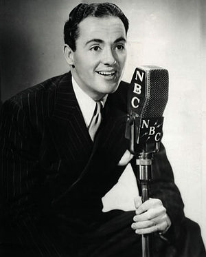 "Charles ""Buddy"" Rogers - Rogers with The Twin Stars radio program, 1937."