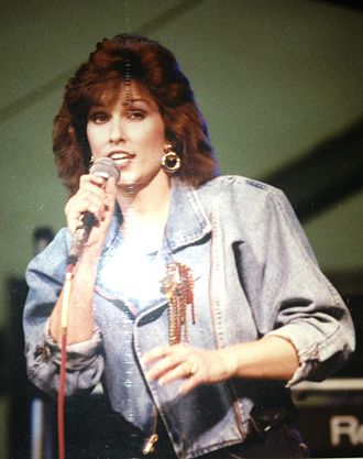 Charly McClain - Charly McClain performing at the Martin County Fair in Stuart, FL on March 9, 1989.