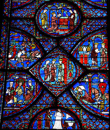 Stained Glass Windows Of Chartres Cathedral Wikipedia