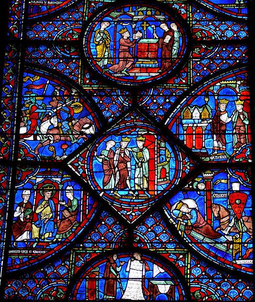 Chartres - Vie de Charlemagne