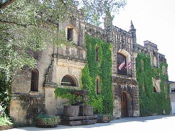 California winery Chateau Montelena in Calisto...