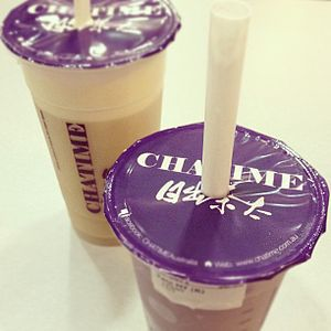 Chatime - There are over 80 Chatime flavours.
