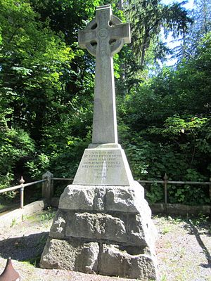 Chehalis Cross - The monument in 2013
