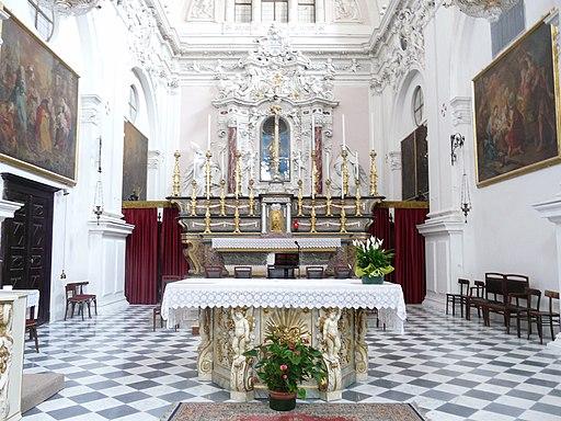 Cherasco-santuario madonna del popolo-altare