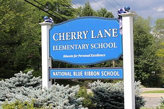 Ramapo, New York - Cherry Lane Elementary School, located in the Village of Airmont. Cherry Lane is one of five elementary schools that help comprise Ramapo (Suffern) Central School District.