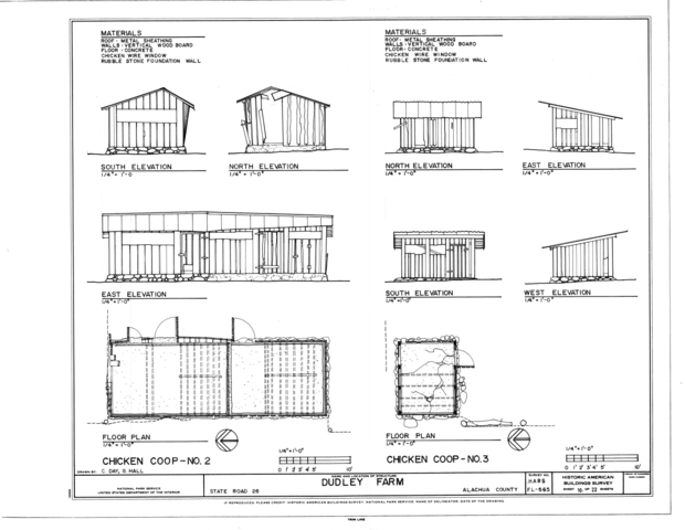 File Chicken Coop No 2 And No 3 Elevations And Floor