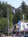 Chief Johnson totem pole replica in Ketchikan, Alaska 2.jpg