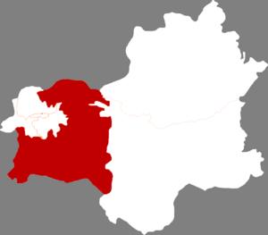 Fushun County, Liaoning - Image: China Fushun Fushun