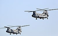 Chinook at Air Force Day Parade, at Air Force Station Hindan, in Ghaziabad on October 08, 2019.jpg