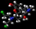Chloroxymorphamine molecule ball.png
