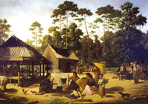 Choctaw Village by Francois Bernard.jpg