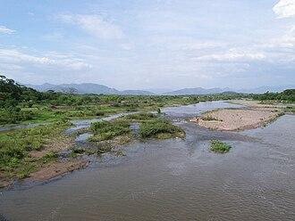 Choluteca River - Choluteca River near the city of Choluteca