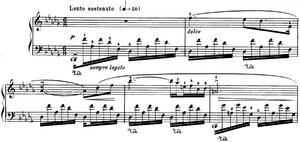 Nocturnes, Op. 27 (Chopin) - The opening bars