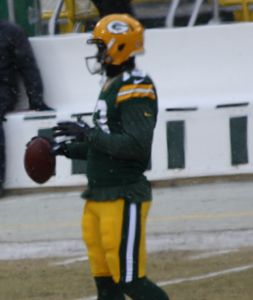 Chris Harper 13 Green Bay practicing before Dec 2013 game cropped.jpg