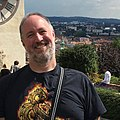 Chris Sims in Graz, Schlossberg.jpg