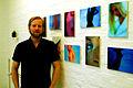 Christian Donner Null190 von 2008 im Atelier ohne Titel Kollenrodtstraße 12A Hannover List Zinnober-Kunstvolkslauf 2012.jpg