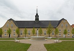 The Moravian Church in Christiansfeld