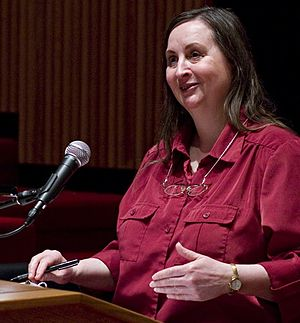 Christine Korsgaard - Image: Christine Korsgaard at Amherst College 2