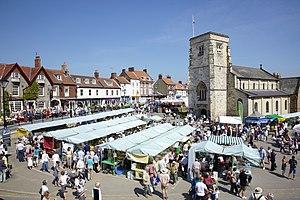 Malton, North Yorkshire - Image: Church Festival