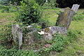 Church at Mashbury, Essex, England, churchyard table tomb at south 02.JPG