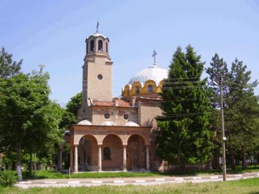 Церковь Святого Димитрия Долна Митрополия Болгария.png