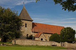 West Peckham - The Saxon church of St Dunstan is a Grade I listed building