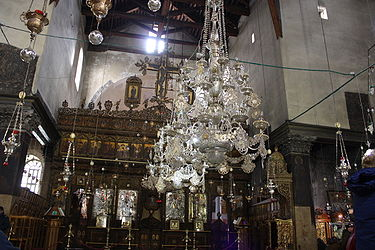 Church of the Nativity iconostasis 2010 12.jpg